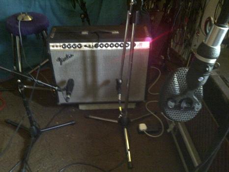Mics on Twin amp