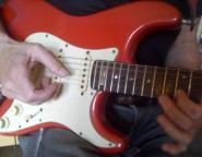 Red StratMy hands 4 Album